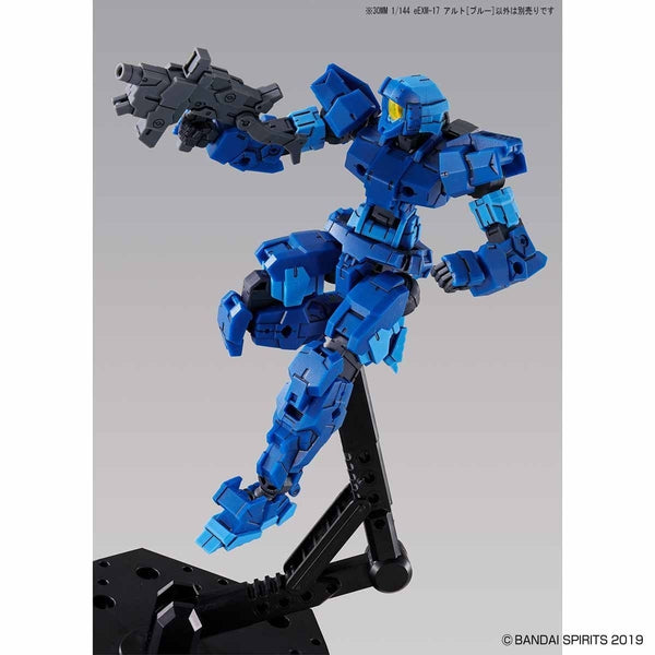 Bandai 1/144 NG 30MM EEXM-17 Alto (Blue) action pose 2