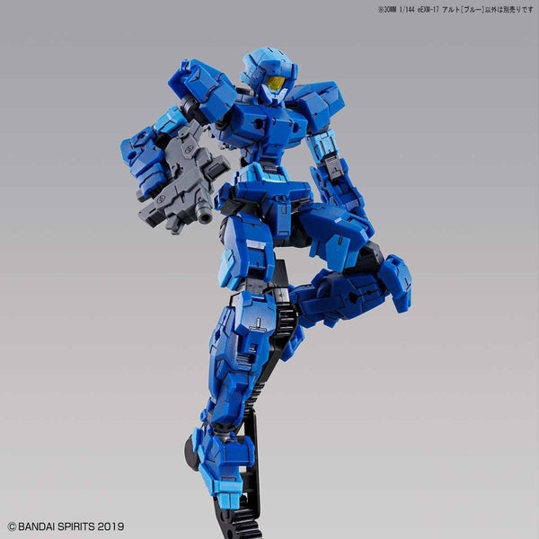 Bandai 1/144 NG 30MM EEXM-17 Alto (Blue) action pose 3