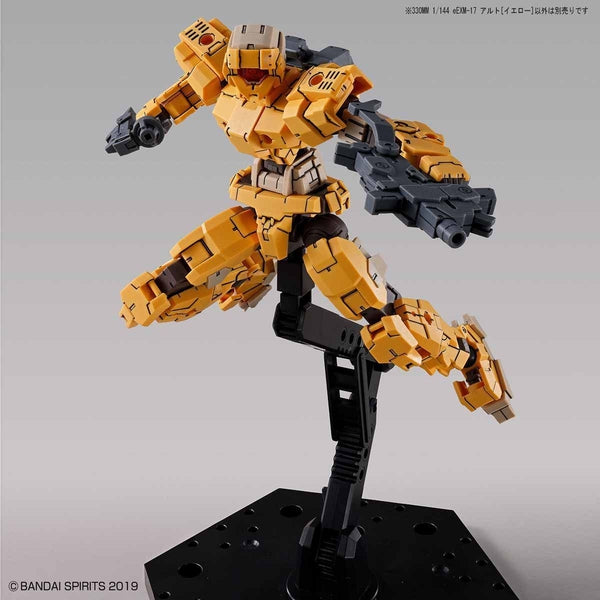 Bandai 1/144 NG 30MM EEXM-17 Alto (Yellow) action pose 1