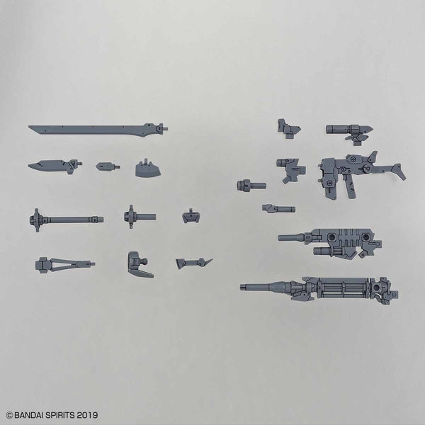 Bandai 1/144 NG 30MM Option Weapon 1 for Alto whats included