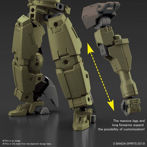 Bandai 1/144 NG 30MM BEXM-14T Cielnova (Green) leg adjustments