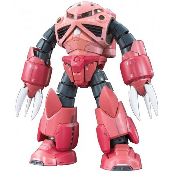 Bandai 1/144 RG MSM-07S Char`s Z`Gok front on pose