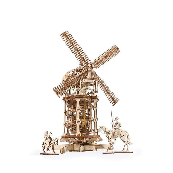 Ugears Tower Windmill mechanical model kit