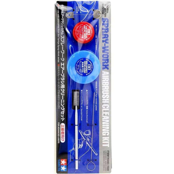 Tamiya Airbrush Cleaning Kit package