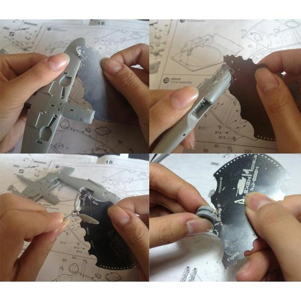 Alexen Model Grinding Tool for Gundam how to