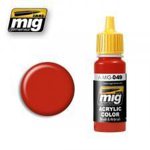 MIG AMMO Red