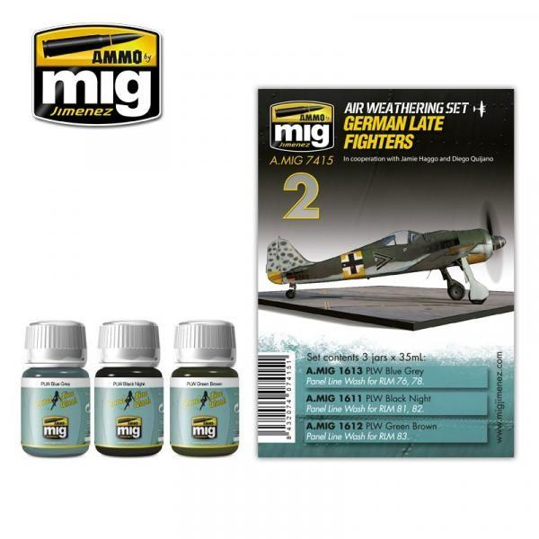 MIG AMMO German Late Fighters