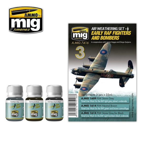 MIG AMMO Early RAF Fighters and Bombers