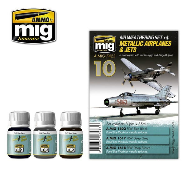 MIG AMMO Metallic Airplanes and Jets