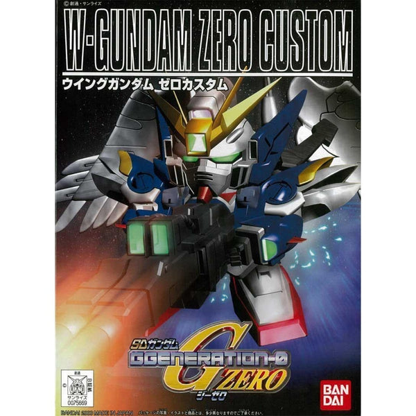 Bandai BB203 XXXG-00W0 Wing Gundam Zero Custom package art