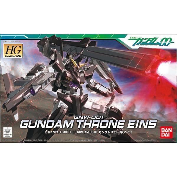 Bandai 1/144 HG Gundam Throne Eins package art