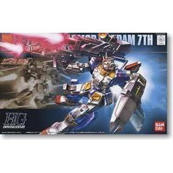 Bandai 1/144 HG RX-78-3 Full Armour Gundam 7th package art