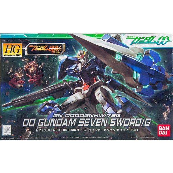 Bandai 1/144 HG 00 Gundam Seven Sword/G package art