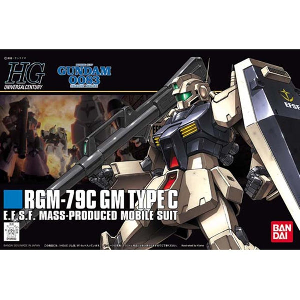 Bandai 1/144 HGUC RGM-79C GM Type C package art