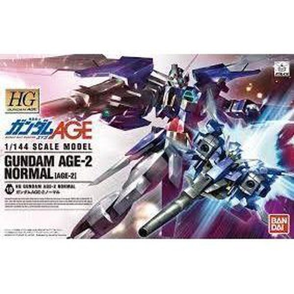 Bandai 1/144 HG Gundam Age-2 Normal package art