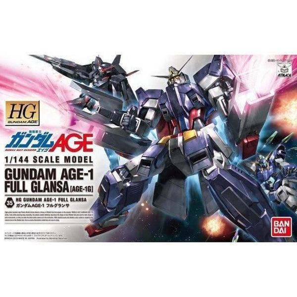 Bandai 1/144 HG Gundam Age-1 Full Glansa package art