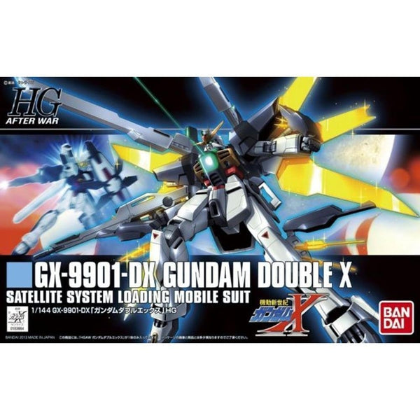 Bandai 1/144 HGAW GX-9901-DX Gundam Double X package art