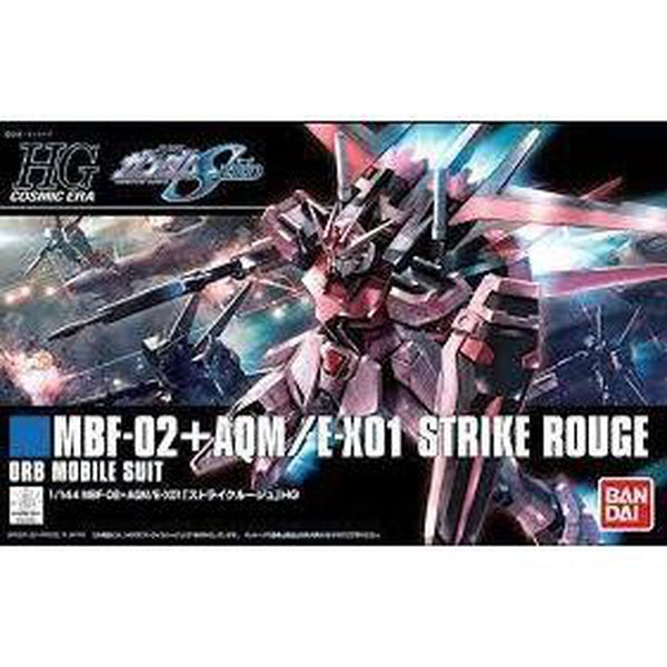 Bandai 1/144 HGCE MBF-02 Strike Rouge package art