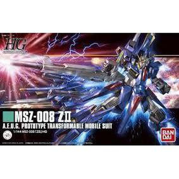 Bandai 1/144 HGUC MSZ-008 Z II package art