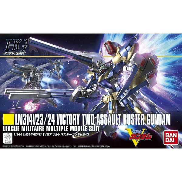 Bandai 1/144 HGUC LM314V23/24 Victory Two Assault Buster Gundam League Militaire Multiple Mobile Suit box
