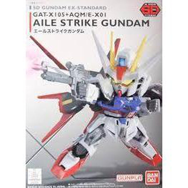 Bandai 1/144 SD Gundam EX-Standard 002 Aile Strike package art