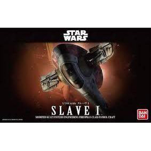Bandai 1/144 Star Wars Plastic Model Kit Slave 1 Cover Art