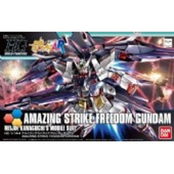 Bandai 1/144 HGBF Amazing Strike Freedom Gundam package art