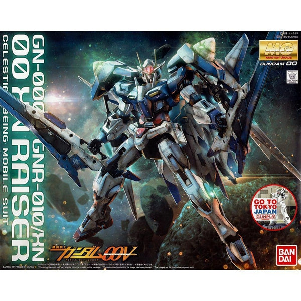 Bandai 1/100 MG 00 XN Raiser Cover Art