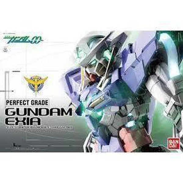 Bandai 1/60 PG Gundam Exia (Non Lighting) Package Art
