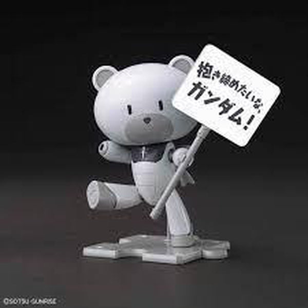 Bandai 1/144 HG Petit'Gguy Graham Aker White with placard
