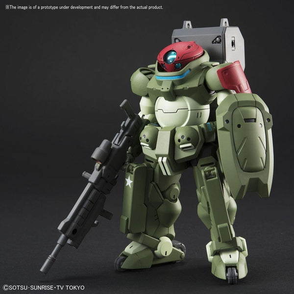 Bandai 1/144 HGBD Grimoire Red Beret front on pose