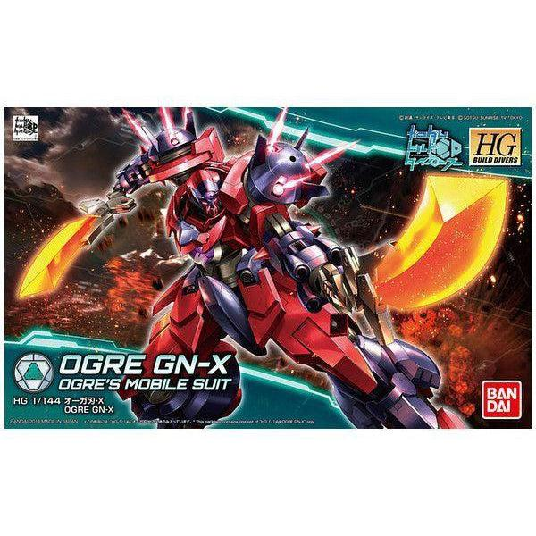 Bandai 1/144 HGBD Ogre GN-X package art