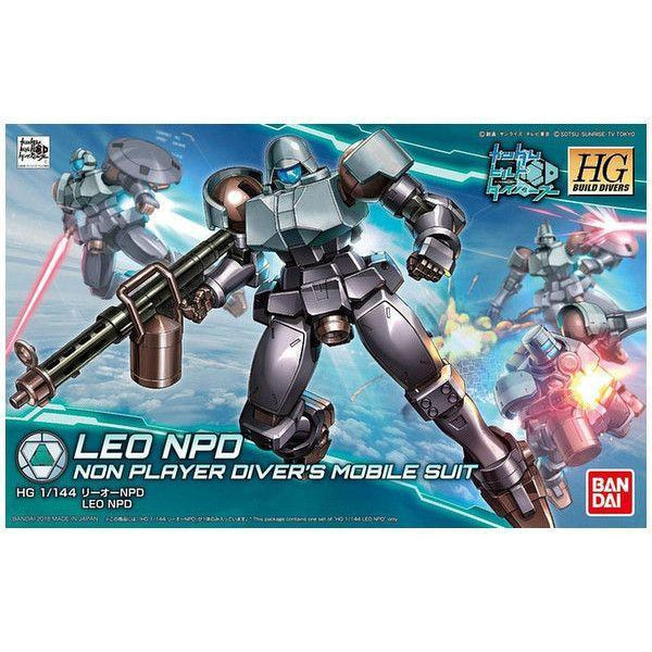 Bandai 1/144 HGBD Leo NPD package art