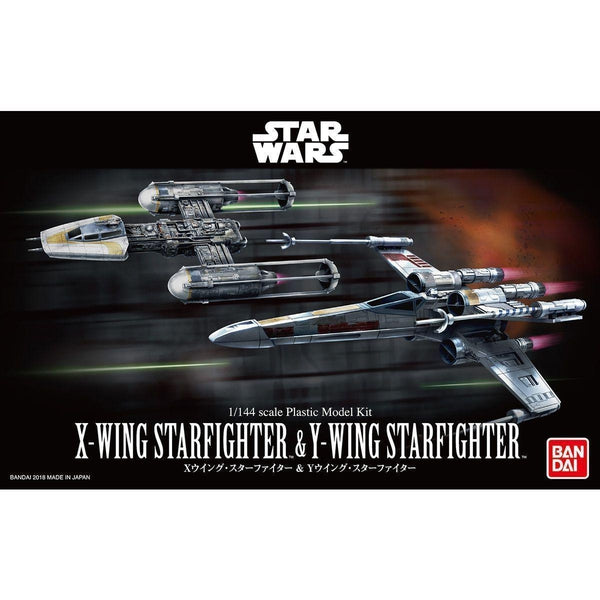 Bandai 1/144 X-Wing Starfighter & Y-Wing Fighter