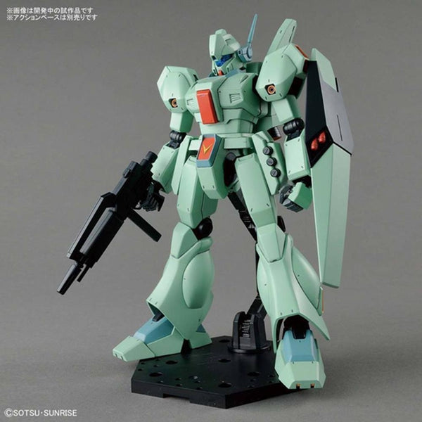 Bandai 1/100 MG Jegan front on view with weapon