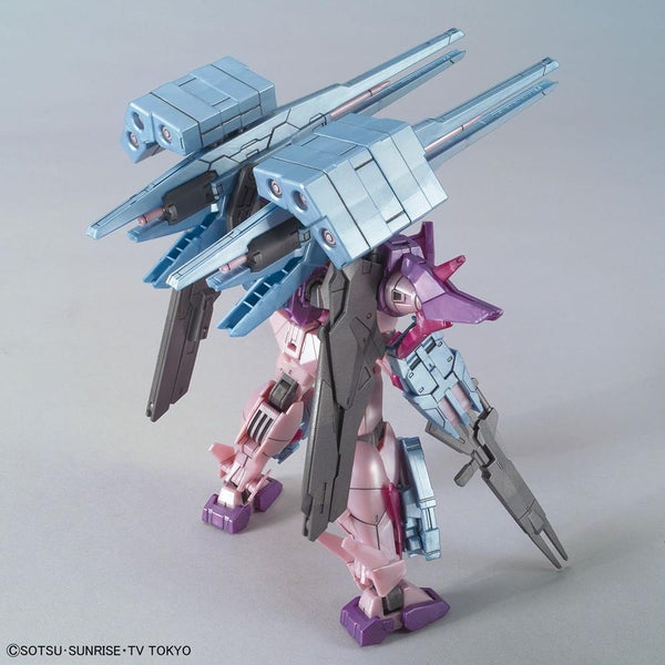 Bandai 1/144 HG Gundam 00 Sky HWS Trans -Am rear view
