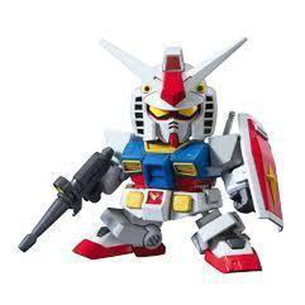 Bandai SD EX-STANDARD 001 RX-78-2 front on pose