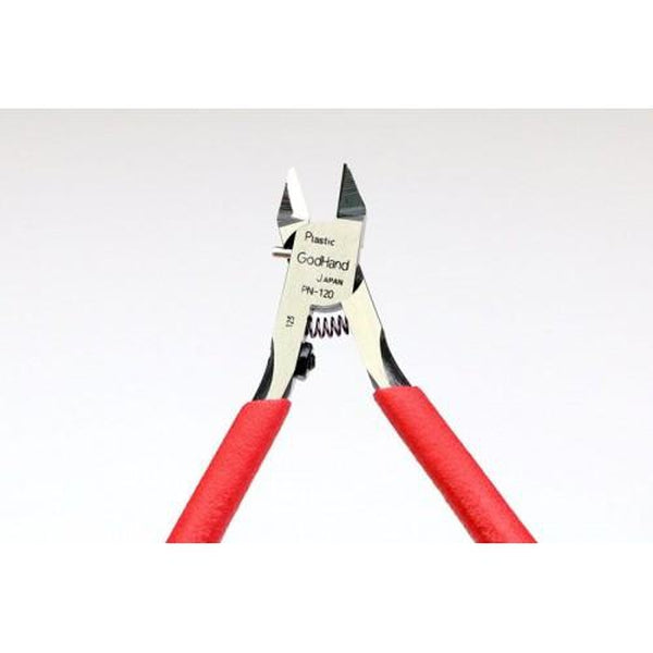 GodHand PN-120 Blade One Nipper Single Edged Plastic Cutting Nippers close up