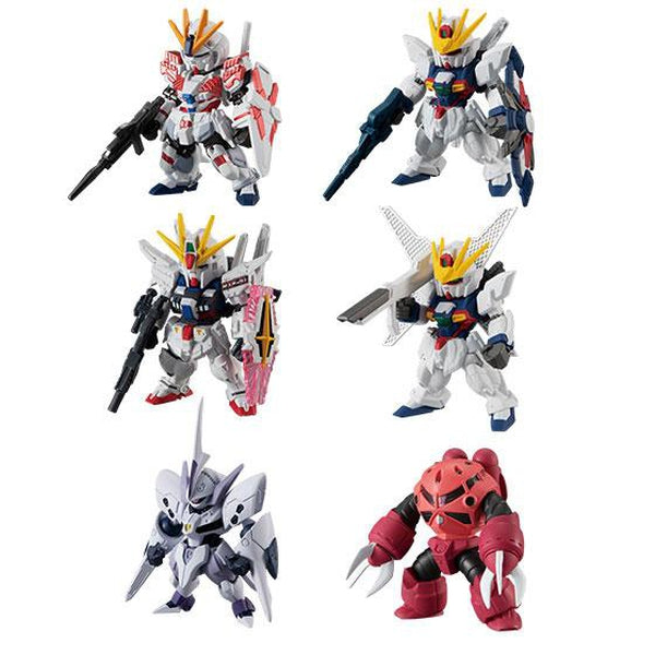 Bandai FW NG Gundam Converge Series 15 all figures