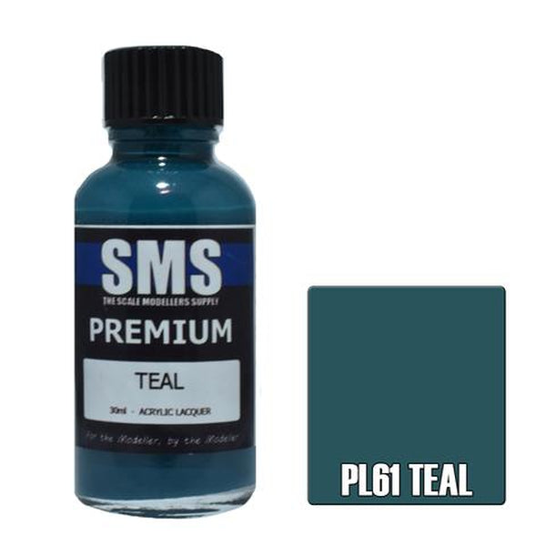 SMS Premium Acrylic Lacquer Series Teal
