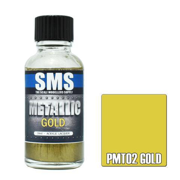 SMS Metallic Acrylic Lacquer Series Gold