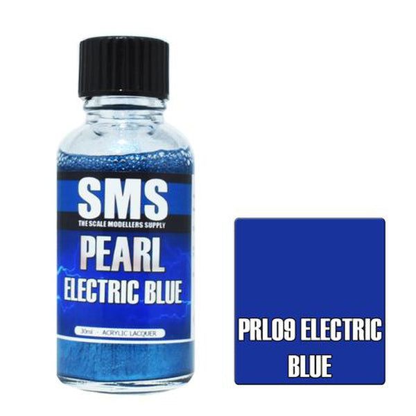 SMS Premium Acrylic Lacquer Series Pearl Electric Blue
