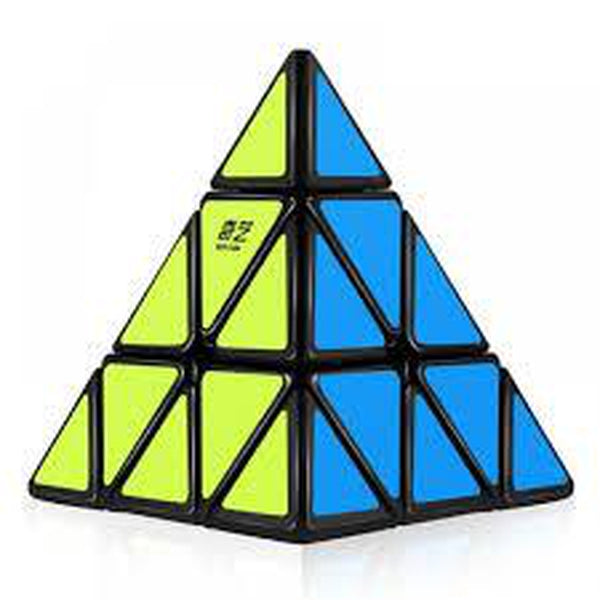 QiYi 3x3x3 Pyraminx Cube stickered