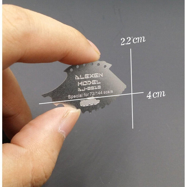 Alexen Model Grinding Tool for 1:72 - 1:144 Scale tool size