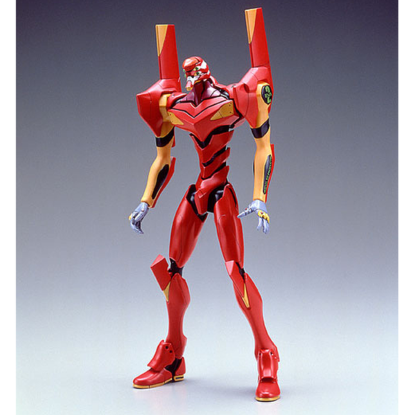 Bandai HG Evangelion 02 Production Model (LM-HG) front on view