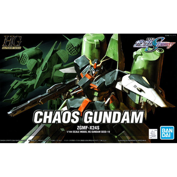 Bandai 1/144 HG Chaos Gundam package art