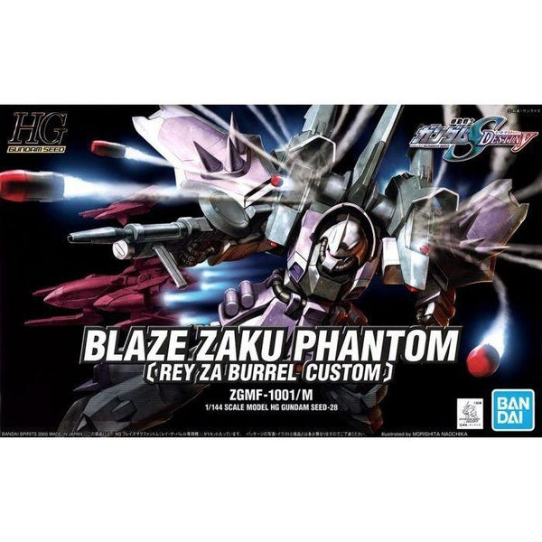 Bandai 1/144 HG Blaze Zaku Phantom package art
