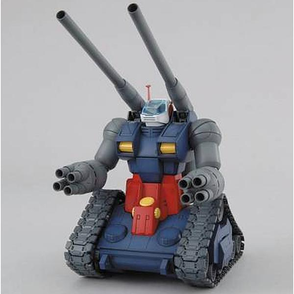 Bandai 1/100 MG RX-75 Guntank front on view.