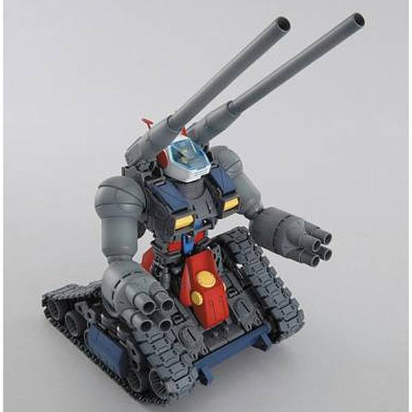 Bandai 1/100 MG RX-75 Guntank front on view. 2