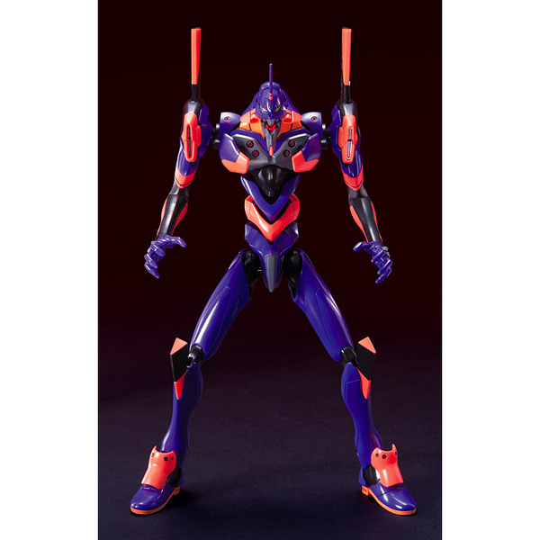 Bandai HG Evangelion 01 Movie Awakening Version front on view.